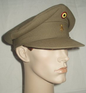 Belgium Army Engineers Peaked Cap (Front Left)