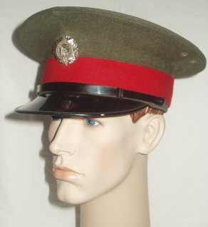 Eire Army Military Police Peaked Cap (Front Right)
