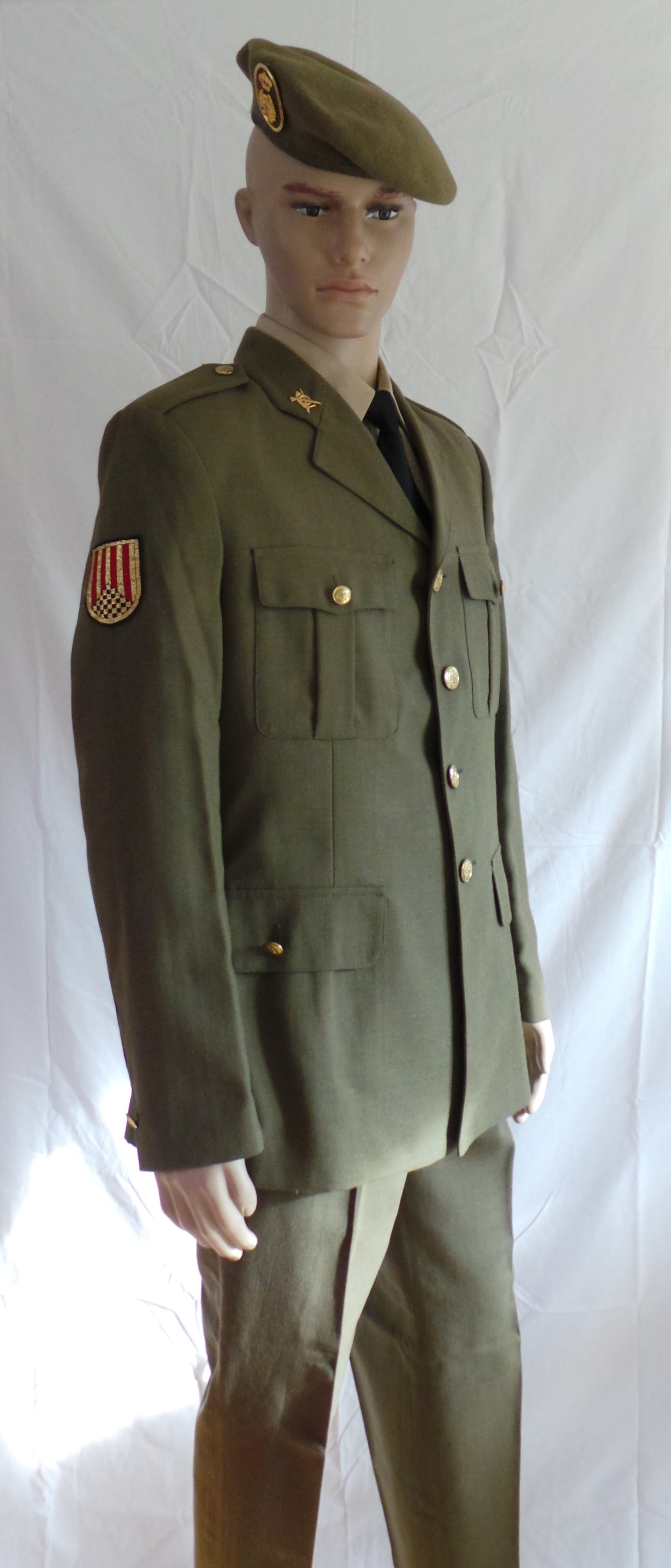 Spanish Army Infantry Other Ranks Service Dress (1)