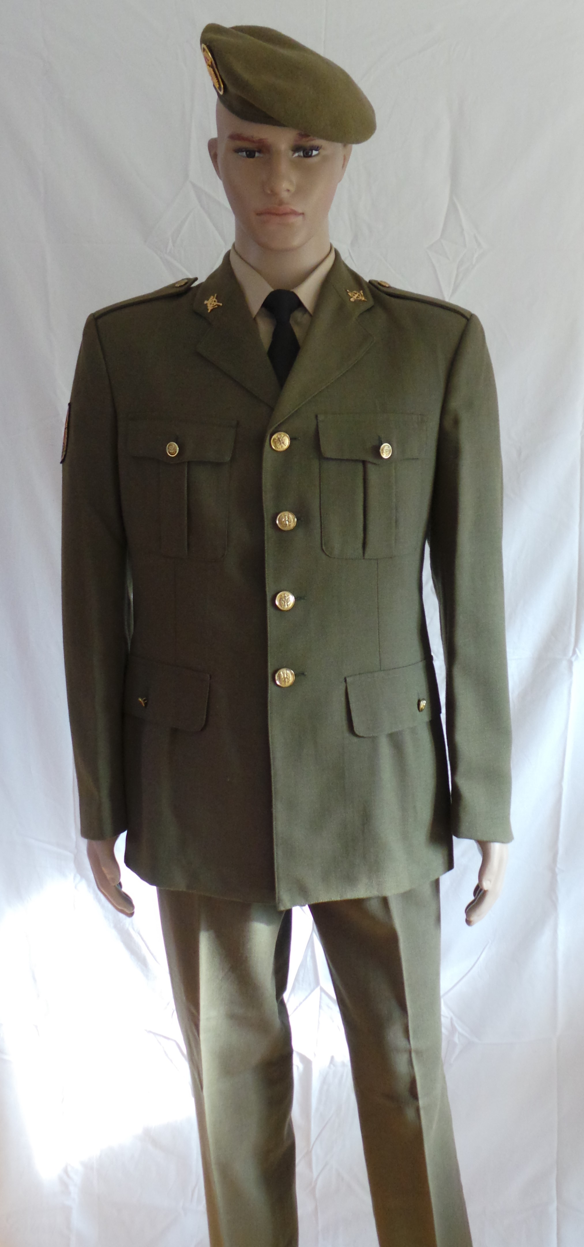 Spanish Army Infantry Other Ranks Service Dress (2)1