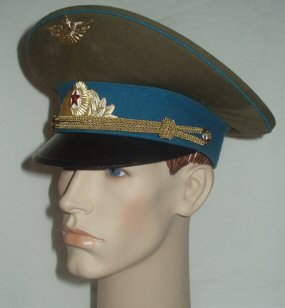USSR Air Force Officers Peaked Cap (Front Right