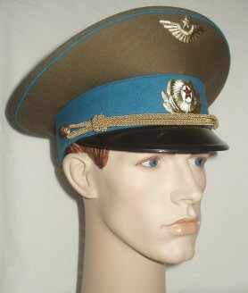 USSR Air Force Other Ranks Peaked Cap (Front Left)