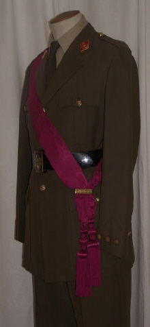 09 Logistics Officer With Sash (Left)