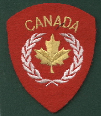 15 Canada Shoulder Sleeve Overseas UN (Felt)