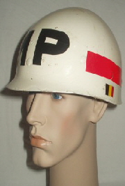 Belgium Army Military Police Helmet (Front Right)