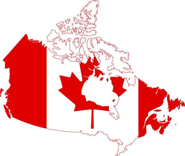 Canada_flag_map_svg