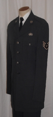 Cheif-Staff-Sgt Security Police Jacket (left)
