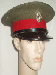 Eire Army Military Police Peaked Cap (Front Left)