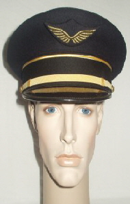 France Air Force Peaked Cap (Front)