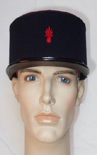 French Foreign Legion 1960s Pattern Red Genade (Front)