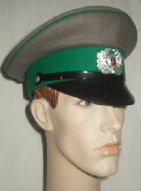 GDR Border Guards Peaked Cap (Front Left)
