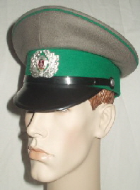 GDR Border Guards Peaked Cap (Front Right)