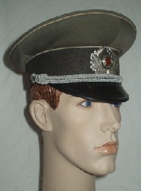 GDR Infantary Peaked Cap Officers (Front Left)