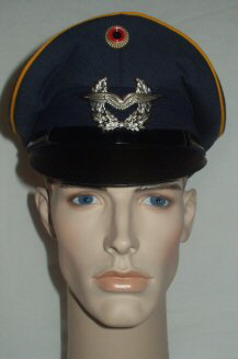 GFR Air Force Peaked Cap (Front)
