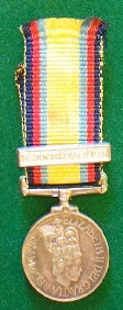 Gulf Medal with clasp 16 Jan to 28 Feb 1991