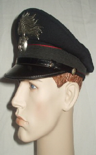 Italy Carabinieri Peaked Cap (Front Right)