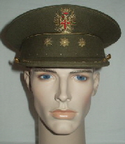 Spain Army Officers Peaked Cap (Front)