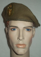 Spain Army Other Ranks Beret (Front)