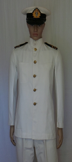UK Navy Officer Whites (Front)