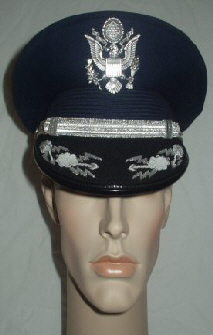 USAF Officers Peaked Cap (Front)