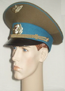 USSR Air Force Other Ranks Peaked Cap (Front Right)